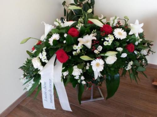 arrangements fleurs